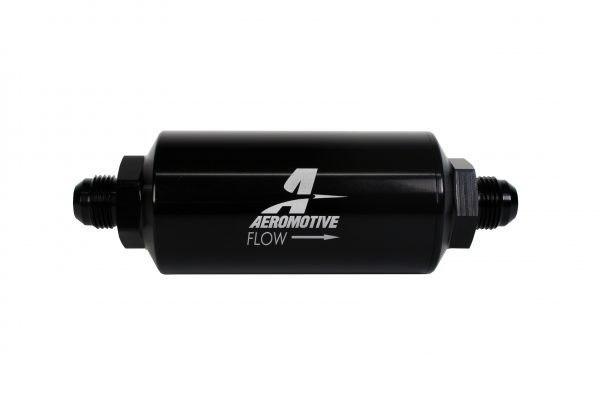 Filtr paliwa Aeromotive 10um AN10 Microglass - GRUBYGARAGE - Sklep Tuningowy